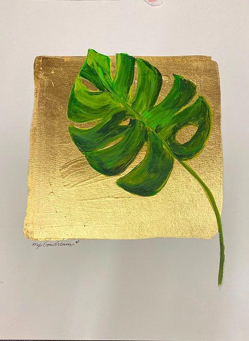 Palm Leaf with Stem