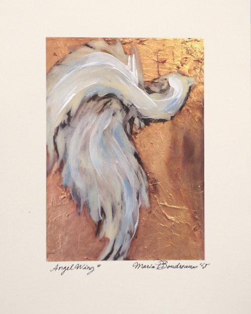 """Angel Wing"" - Artist Enhanced Print"