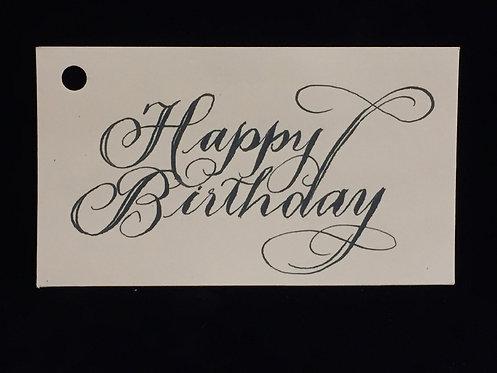 Happy Birthday Sentiment Cards