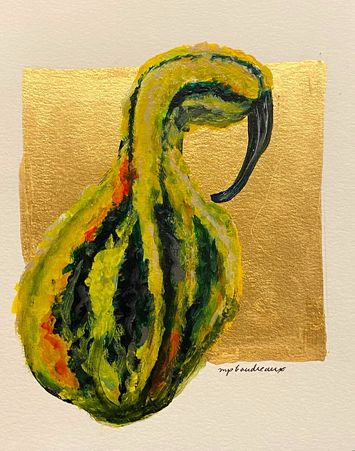 Pear shaped Multi Color Gourd