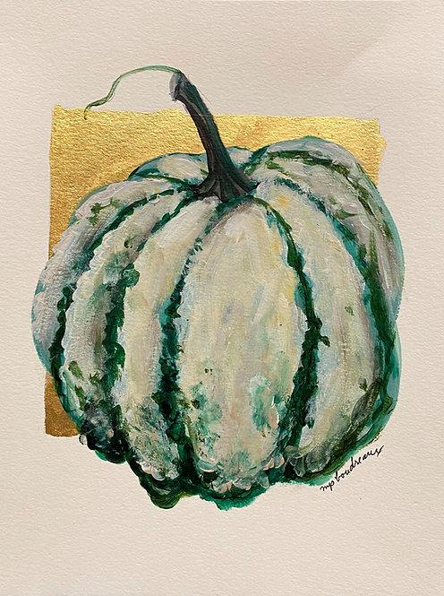 Green & White Gourd