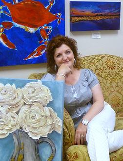 Maria Boudreaux Southern Gulf Coast Artist