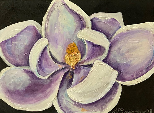 Purple and Gold Magnolia II