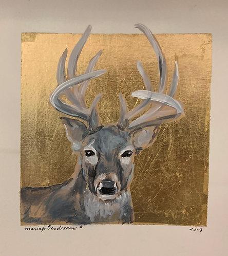 Deer on Paper