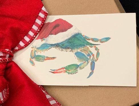 Blue Christmas Gift Tags 10pk