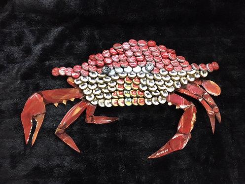 Walking Red Crab Bottlecap