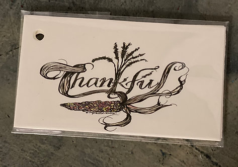 Color Thankful Gift Tags 10/pk
