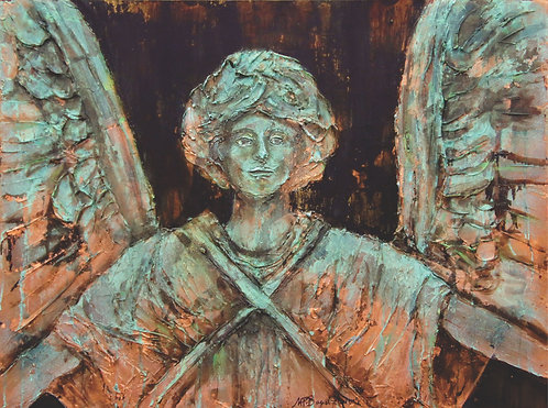 Angel in Verdigris