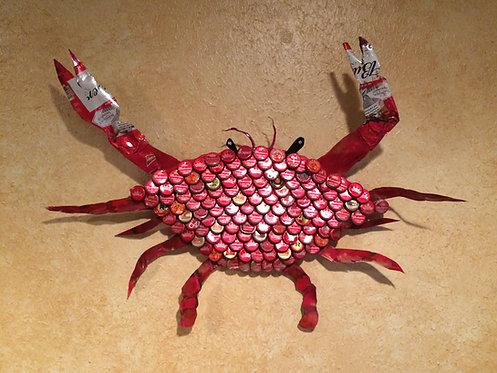 Red Boiled Crab Bottlecap