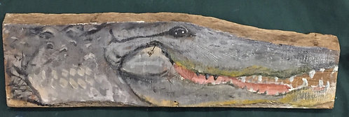 Alligator on Wood II