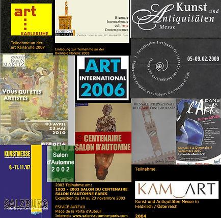 Ausstellungsplakate Roland Kahlke