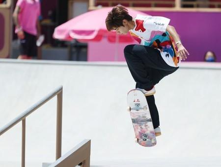 オリンピック スケートボード