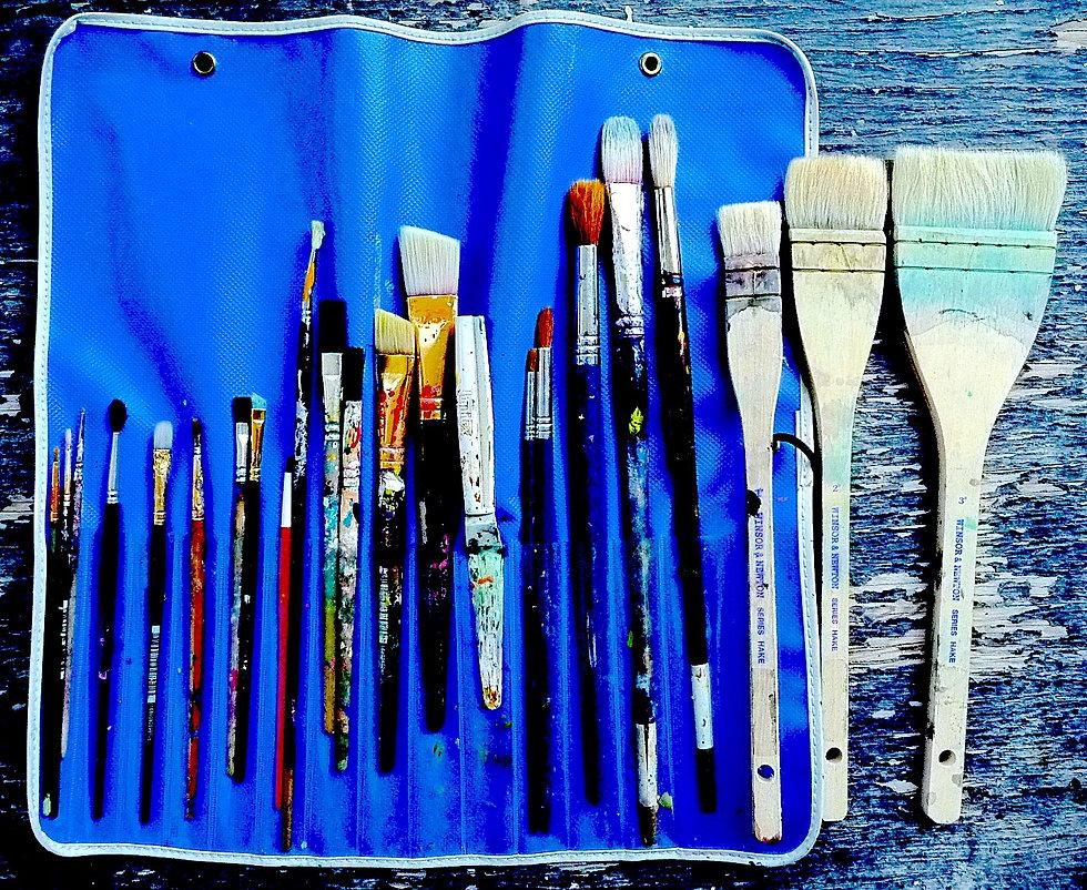 Paint brushes ©ajvallee