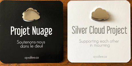 Projet Nuage Deuil Silver Cloud Project Mourning ©ajvallee