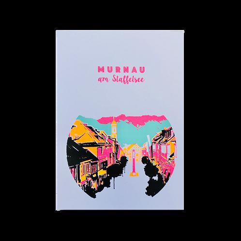 Postkarte Murnau