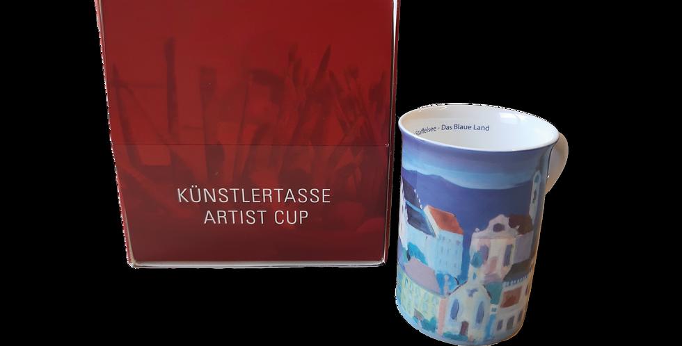 "Künstlertasse ""Murnau am Staffelsee"""