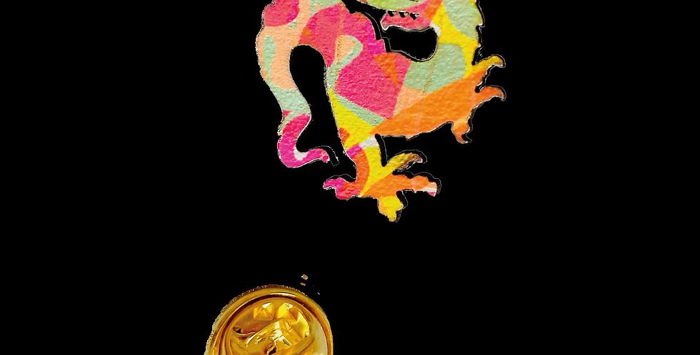 Pin Drache * Grüße aus Murnau