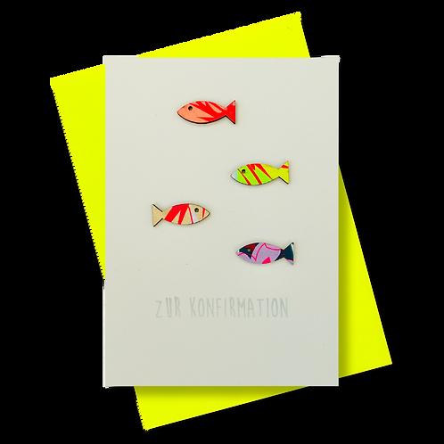 Zur Konfirmation * Fischschwarm