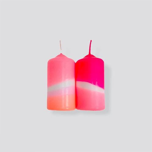 Dip Dye Neon * Flamingo Feathers