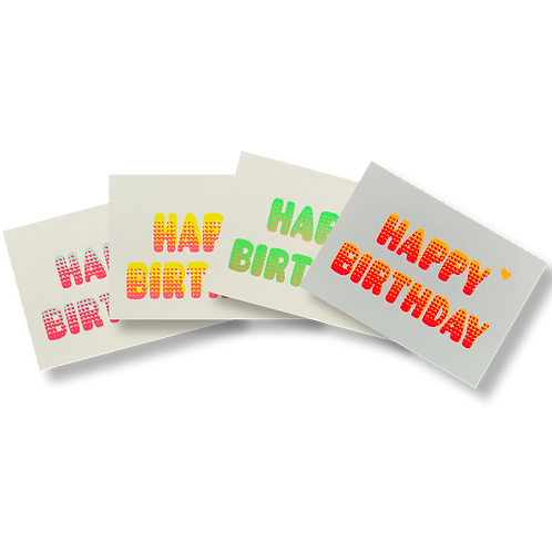 Bubble Birthday Mix