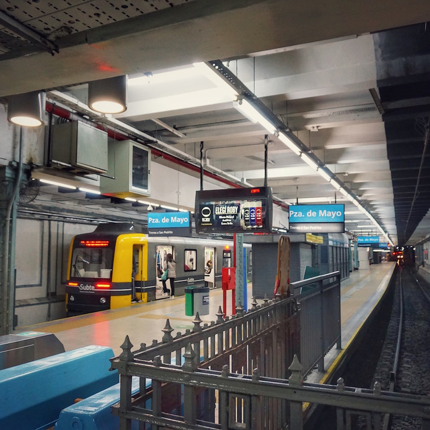 Wir fahren U-Bahn