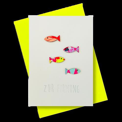 Zur Firmung * Fischschwarm