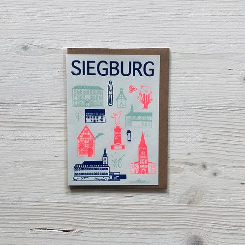 Klappkarte Icons Siegburg 2