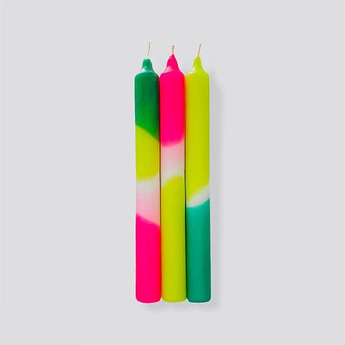 Dip Dye Neon * Green Splash