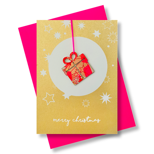 Merry Christmas gold * Weihnachtsgeschenk