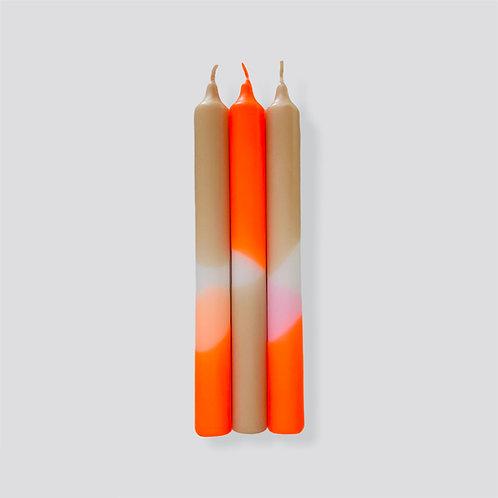 Dip Dye Neon * Papaya Sand