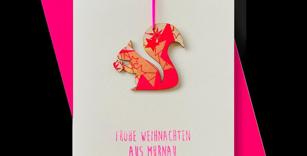 Frohe Weihnachten aus Murnau * Eichhörnchen