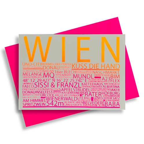 Highlights Wien neonpink