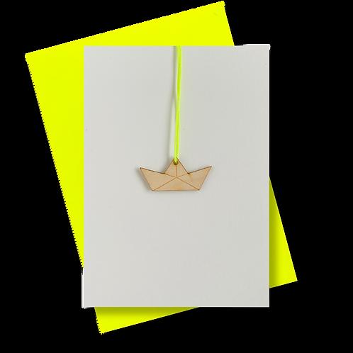 * Paperboat neongelb