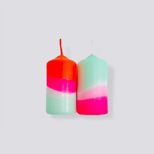Dip Dye Neon * Peppermint Cherries