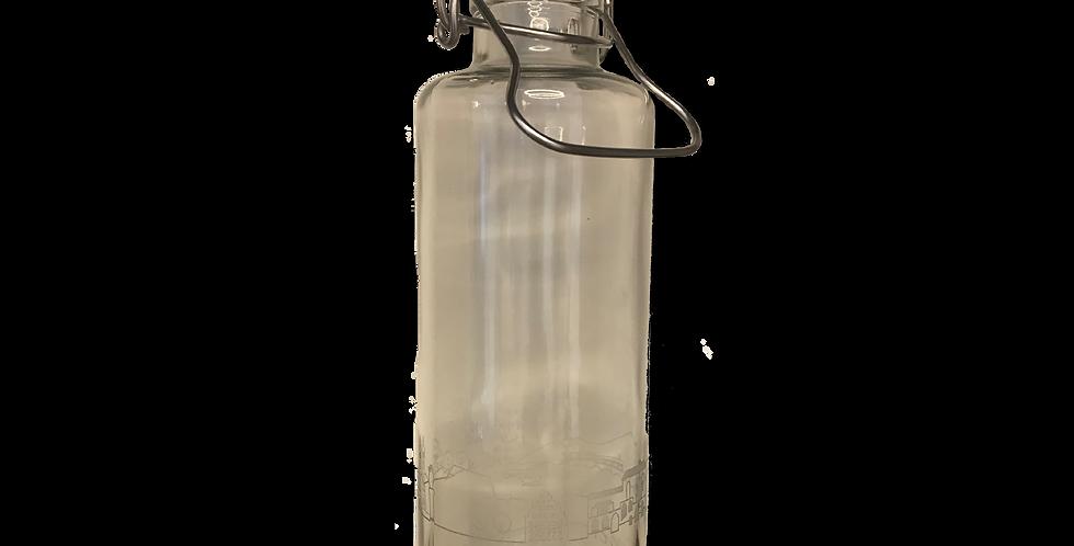 Glastrinkflasche