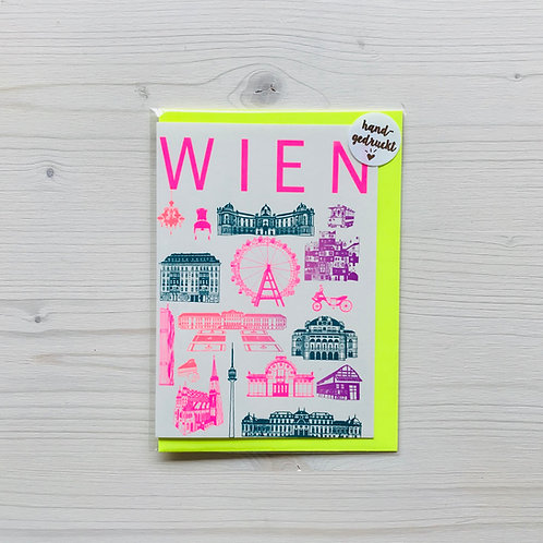 Klappkarte Icons Wien 1