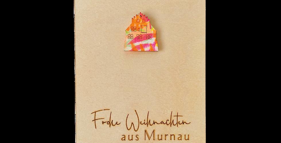 Pin Schloß * Frohe Weihnachten aus Murnau