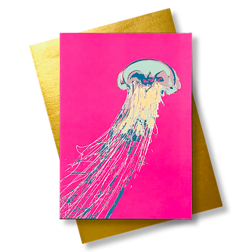 Qualle Neonpink