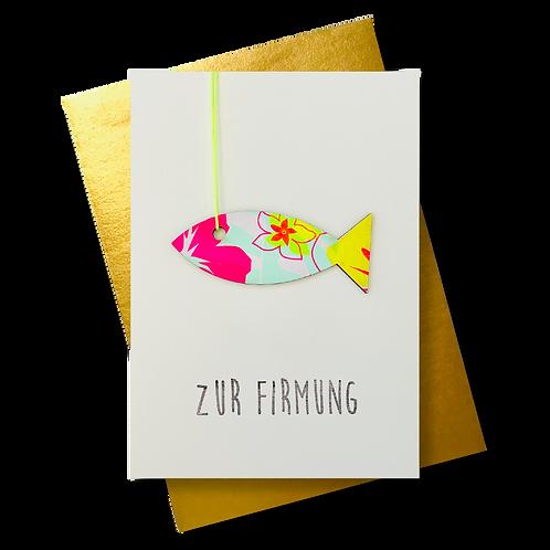 Zur Firmung * Fisch