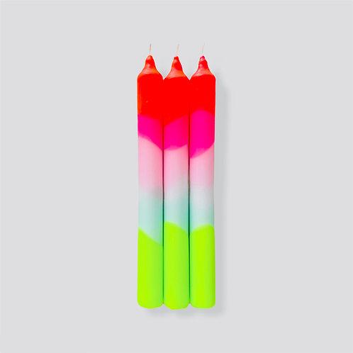 Dip Dye Neon * Lollipop Trees