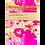 Thumbnail: Herzerl-Anhänger violett