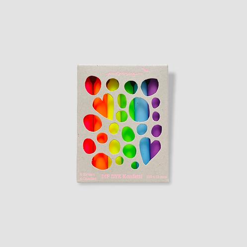 Dip Dye Konfetti * Rainbow