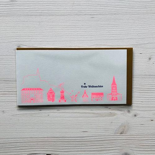Klappkarte Stadtperlen Siegburg 1