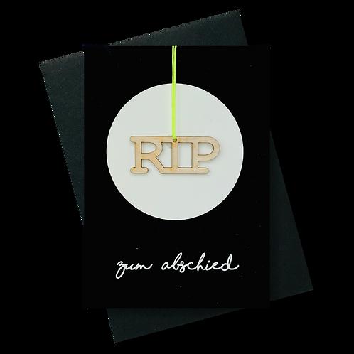 Zum Abschied * RIP