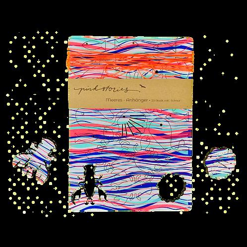 Meeres-Anhänger Waves