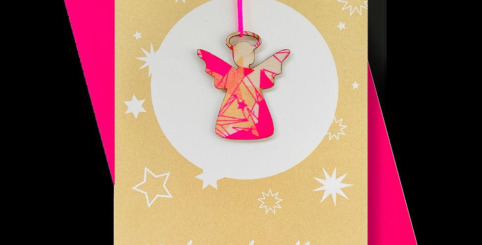Frohe Weihnachten Gold * Engel