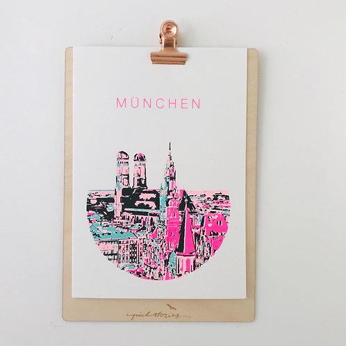 Mini.Kunstdruck Foto München