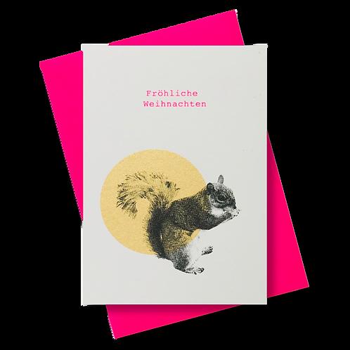 Eichhörnchen gold FW