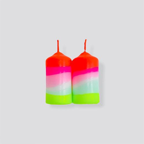 Dip Dye Neon * Lollipop Twins
