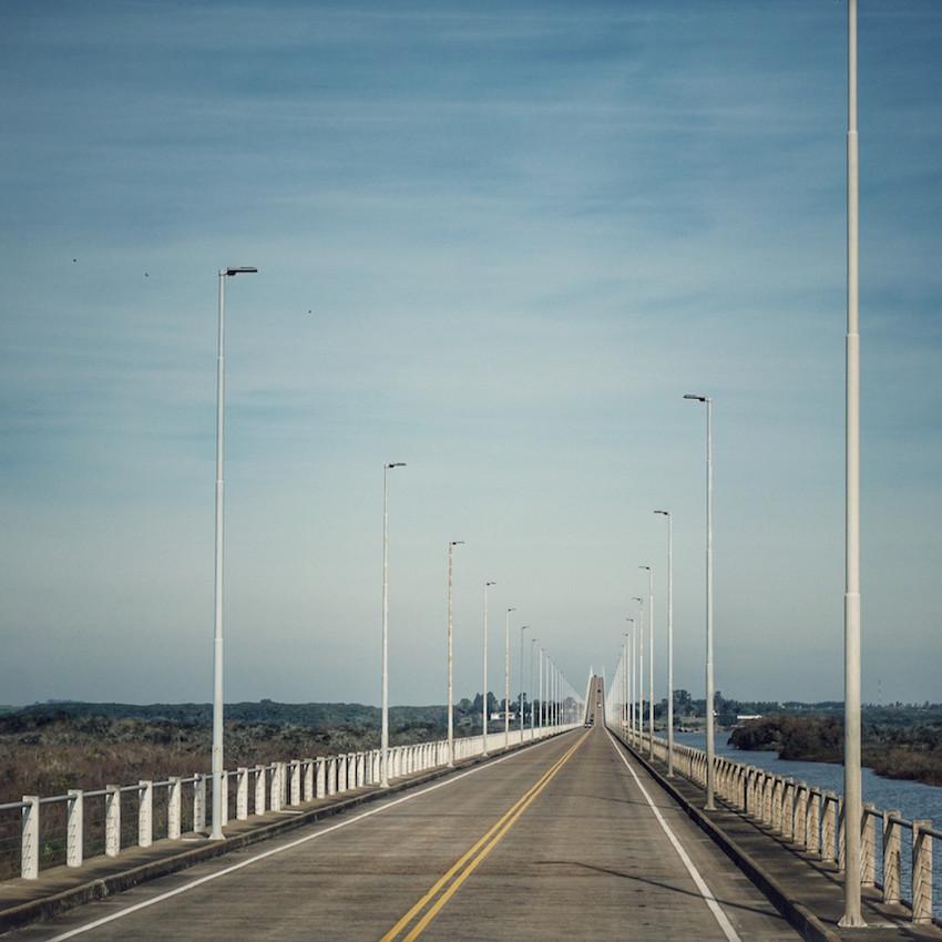 Grenze zu Uruguay